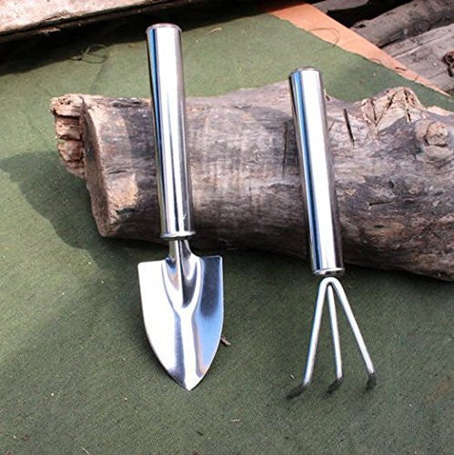 Coolrunner stainless steel plant garden mini tools for Garden trowels for sale