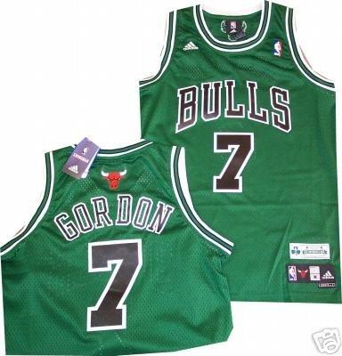 Chicago Bulls Ben Gordon St Patricks Day Swingman Adidas Jersey 70ec33f25