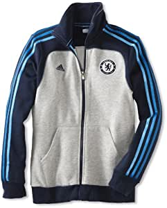 Chelsea Soccer Core Women's Track Top, Small, Collegiate Navy/Grey/Cyan
