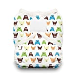 Thirsties Duo Wrap Diaper Cover with Hook and Loop, Hoot, Size 1 by Thirsties
