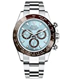 Rolex Daytona Platinum Watch Ice Blue Ceramic 116506 Unworn 2016