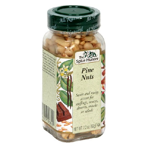 The Spice Hunter Pine Nuts, 2.2-Ounce Jars (Pack of 3)