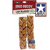 Castor & Pollux Good Buddy USA Rawhide Braided Sticks - 7-8