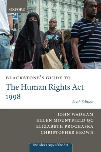 Blackstone's Guide to the Human Rights Act 1998 (Blackstones Guides)
