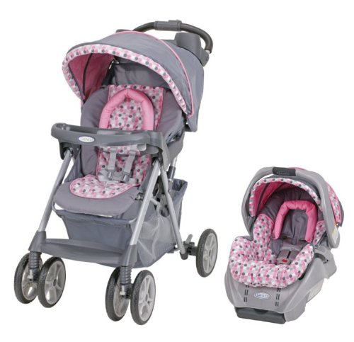Graco Alano Baby Stroller & SnugRide Infant Car Seat Travel System - Ally