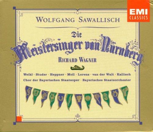 Wagner: Die Meistersinger von Nürnberg / Weikl, Studer, Heppner, Moll, Lorenz, van der Walt, Kallisch; Sawallisch (Wagner Sawallisch compare prices)