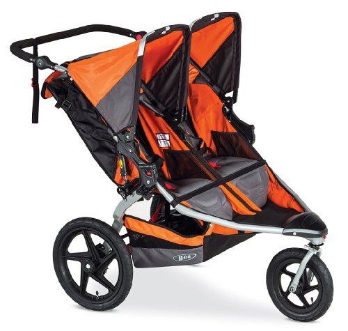 BOB Revolution Flex Duallie Stroller, Orange - 1