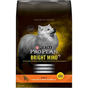 Purina Pro Plan Bright Mind Adult Chicken & Rice Formula Dog Food Bag (1 Pack), Medium/16 lb