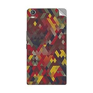 Garmor Designer Mobile Skin Sticker For Lava Iris 405 Plus- Mobile Sticker