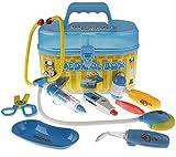 Spielzeug Arztkoffer mit umfangreichem, funktionierendem Zubehör (blau) - 2