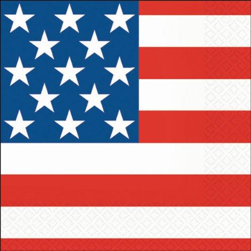 Luncheon Napkins - 20PK/Stars & Stripes