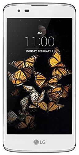 LG K8 Smartphone (12,7 cm (5 Zoll) Touch-Display, 8 GB interner Speicher, Android 6.0) weiß