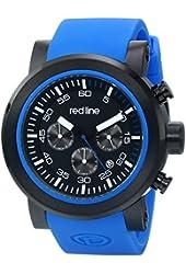 red line Men's RL-50050-BB-01-BLAS Torque Sport Analog Display Japanese Quartz Blue Watch