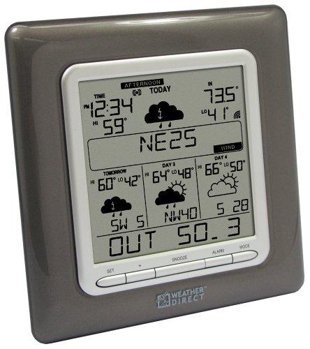 La Crosse Technology WD-3307U Weather Direct 4-Day Multi-Line Wireless Forecaster