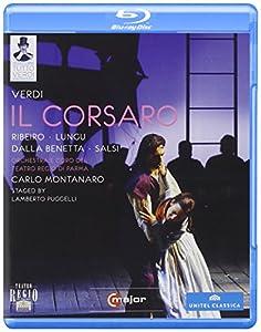 Verdi: Il Corsaro (Parma 2008) (Ribeiro, Lungu, Salsi, Dalla Benetta, Bonfatti, Papi, Villari, Lamberto Puggelli, Carlo Montanaro) (C Major: 722504) [Blu-ray] [2013] [NTSC]