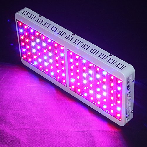 Oceanrevive 500W + Full Spectrum Led Grow Light Lamp 5W Leds Growth Greenhouse Indoor Hydroponic Plant Veg Flowering Fixture Lighting Panel