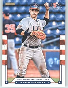 Buy 2012 Panini TEAM USA Baseball Card # 10 Marco Gonzales - Collegiate National Team (Rookie Prospect)... by USA Baseball