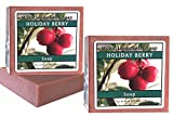 Holiday Berry Natural Olive Oil Soap 6 Oz Pack Of 2