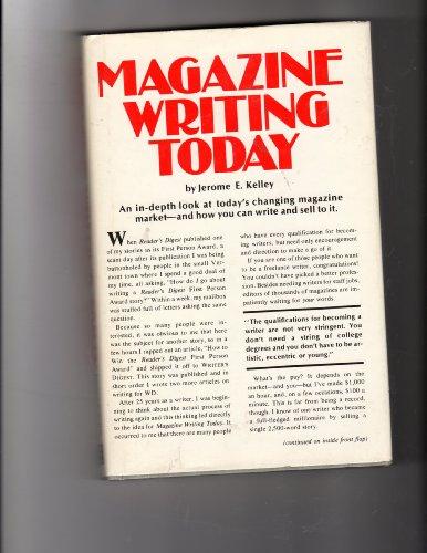 Magazine writing today