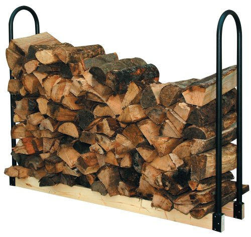 New Fire Wood Adjustable Length Log Storage Rack Indoor