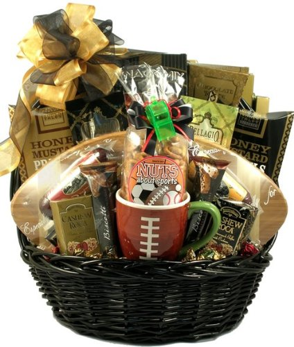 Baby Gift Baskets Wa : Touch down favorite football gift basket delicious foods