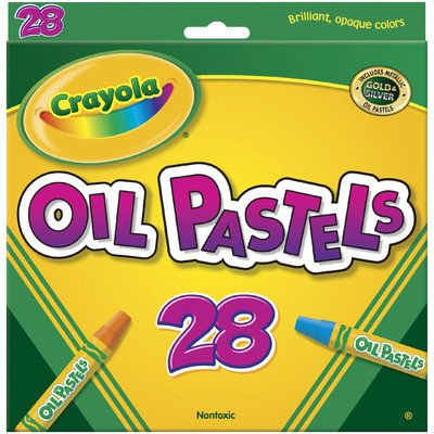 Hexagonal Oil Pastel Sets [Set of 2]