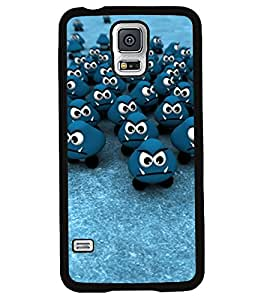 Printvisa 2D Printed Cartoon Designer back case cover for Samsung Galaxy S5 SM - N900I / N900F - D4461