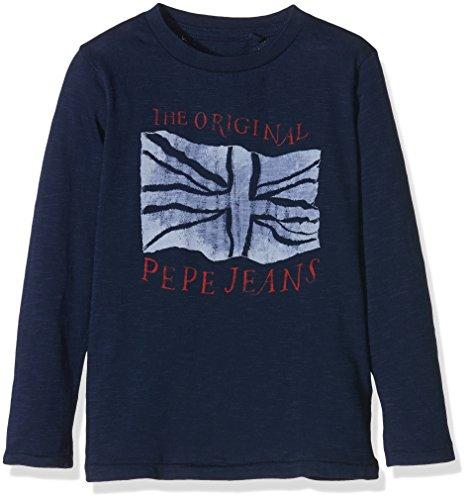 Pepe Jeans Jay Jr, T-Shirt Bambino, Blu (Eton Blue), 8 Anni (Taglia Produttore: 8 Ans )