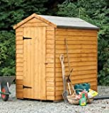 Forest 6X4 Security Overlap Apex Shed
