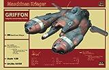 1/20 マシーネンクリーガーシリーズ 反重力装甲戦闘機Pkf.85bis グリフォン