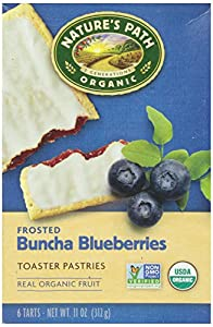 Nature's Path Frosted Toaster Pastry, Blueberry, 11 oz, 6 ct, 2 pk