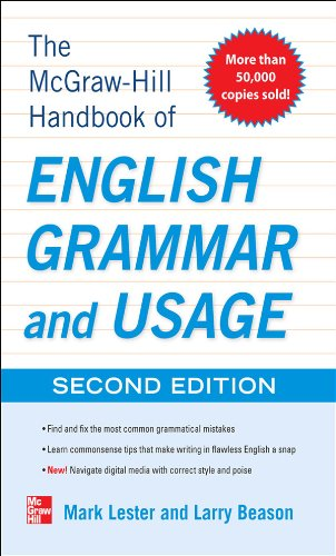 McGraw Hill Handbook English Grammar ebook
