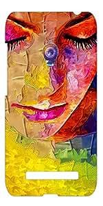 Top Color topasuszen0501 Mobile Cover for Asus zenfone 5 (Multicolor)