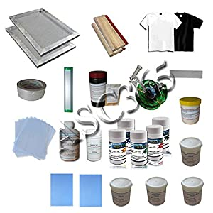 4-2 Screen Printing Press with Materials Starter Screen Printing Kit