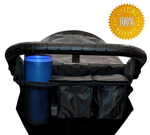 The Luna Jogger - Universal Stroller Organizer - Exceptional Quality - Lifetime Guarantee - 1