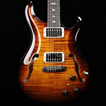 PRS Hollowbody II HBII with Piezo - Black Gold - 2013 #209054