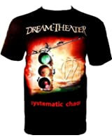 DREAM THEATER T-SHIRT 'Systematic Chaos' Fanshirt Noir Black