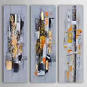 MHH- pittura a olio moderna astratta caos ambra trovare ...