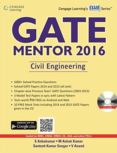 GATE Mentor 2016: Civil Engineering