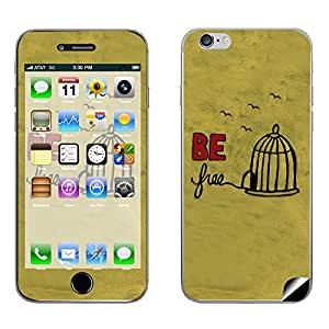 Skintice Designer Mobile Skin Sticker for Apple iPhone 6, Design - Be Free