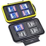 JJC MC-SD8 Memory Storage Case for 8x...