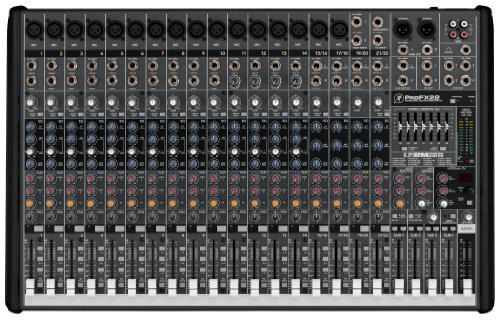 Mackie ProFX Series ProFX22, 22-channel/4-bus