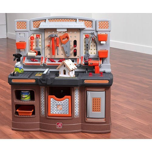 Step 2 - Home Depot Big Builders Pro Workshop (Home Depot For Kids compare prices)