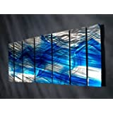 Handsanded Metal Wall Sculpture. Modern Decor by Ash Carl ~ ASH CARL