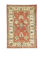 Eden Carpets Alfombra Agra Special Beige/Rojo 114 x 78 cm