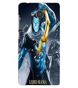 ColourCraft Lord Rama Design Back Case Cover for XIAOMI REDMI 2S