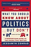 img - for What You Should Know About Politics . . . But Don't: A Nonpartisan Guide to the Issues That Matter book / textbook / text book