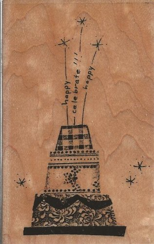 Sweet Montage Wood Mounted Rubber Stamp (M147)