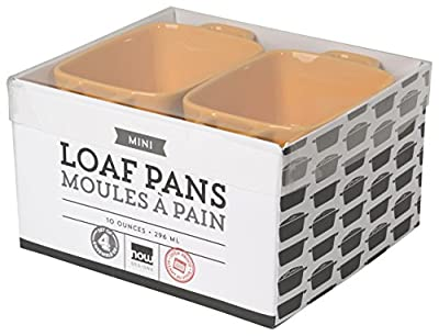 Now Designs Mini-Loaf Pans, Set of Four