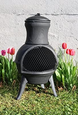 Grant Small Cast Iron Chimenea 70cm from Grants